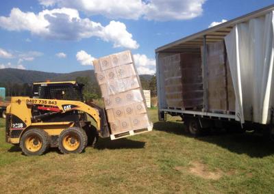 Delivering a Truck Load