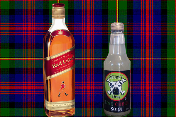Scotch, rocks and scurvy dog, nothing more needed.